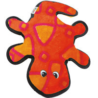 Outward Hound Dog Toy: Gecko - 2 Squeakers. Available online from Yes.Pet