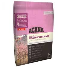Acana Dog Food: Grass-fed Lamb. Available online from Yes.Pet