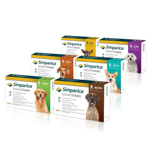 Simparica Chewables - 3 pack