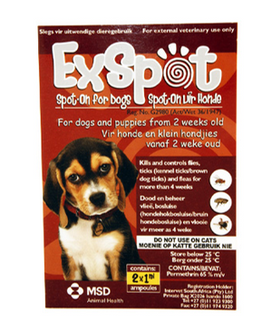 ExSpot Spot-on - 2 pack
