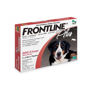 Frontline Plus - 3 Pack