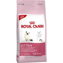 Royal Canin Cat Food: Kitten - 4 to 12 months. Available online from Yes.Pet