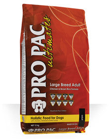 Pro Pac Dog Food: Large Breed Adult. Available online from Yes.Pet