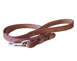 Point Leather Leather Leash: Leather leash. Available online from Yes.Pet