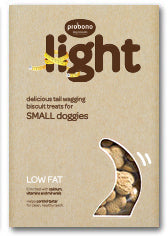 Probono Dog Treat: Light (Small Dogs). Available online from Yes.Pet