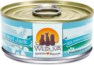 Weruva Cat Food: Mack and Jack. Available online from Yes.Pet