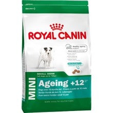 Royal Canin Dog Food: Mini Adult 12+ (Over 12 years). Available online from Yes.Pet