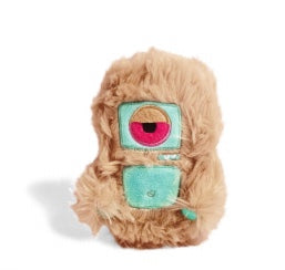 Alien Flex Dog Toy: MiniHarry. Available online from Yes.Pet