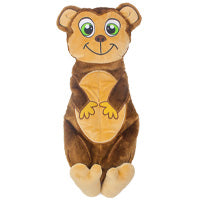 Outward Hound Dog Toy: Monkey (5 Squeakers). Available online from Yes.Pet