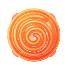 Outward Hound Feeder Bowl: Fun Feeder - Orange. Available online from Yes.Pet