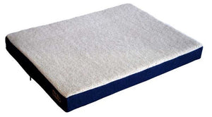 Axel's Dog Bed: Orthopedic Bed (Shepherd's Fleece). Available online from Yes.Pet