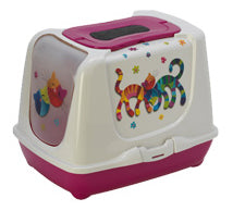 McMac Litter Box: Trendy Cat Toilet. Available online from Yes.Pet