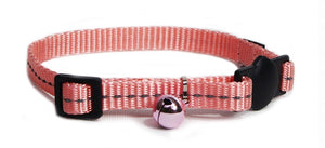 Cat's Life Webbing Collar: Super Soft Webbing. Available online from Yes.Pet