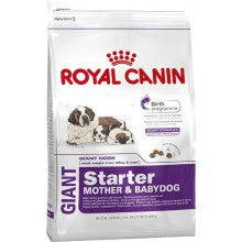 Royal Canin Dog Food: Giant Starter Mother and Babydog (From weaning to 2 months). Available online from Yes.Pet