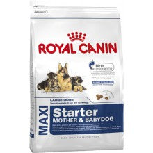 Royal Canin Dog Food: Maxi Starter Mother and Babydog (From weaning to 2 months). Available online from Yes.Pet