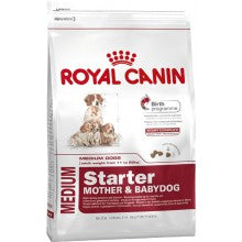 Royal Canin Dog Food: Medium Starter Mother & Baby Dog (From Weaning to 2 Months). Available online from Yes.Pet