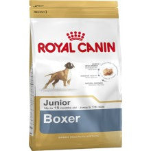 Royal Canin Dog Food: Boxer Junior (2 to 15 months). Available online from Yes.Pet