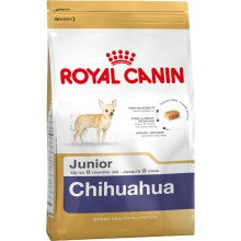 Royal Canin Dog Food: Chihuahua Junior (2 to 8 months). Available online from Yes.Pet