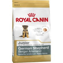 Royal Canin Dog Food: German Shepherd Junior (2 - 15 months). Available online from Yes.Pet