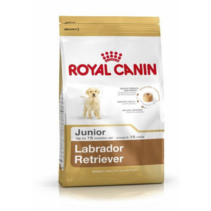 Royal Canin Dog Food: Labrador Retriever Junior (2 to 15 months). Available online from Yes.Pet