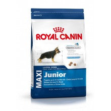 Royal Canin Dog Food: Maxi Junior (2 to 15 Months). Available online from Yes.Pet