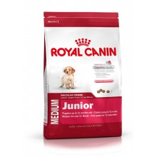 Royal Canin Dog Food: Medium Junior (2 to 12 Months). Available online from Yes.Pet