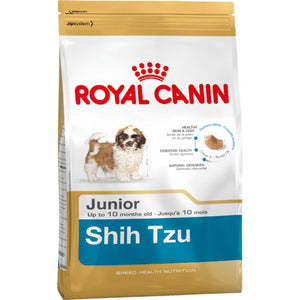 Royal Canin Dog Food: Shih Tzu Junior (2 to 10 months). Available online from Yes.Pet