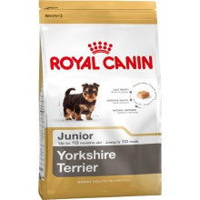Royal Canin Dog Food: Yorkshire Terrier Junior (2 to 10 months). Available online from Yes.Pet