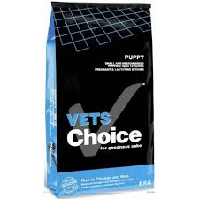 Vets Choice Dog Food: Vets Choice - Puppy (up to 18 months). Available online from Yes.Pet