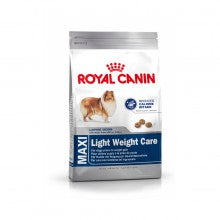 Royal Canin Dog Food: Maxi Adult Light Weight Care. Available online from Yes.Pet