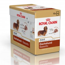 Royal Canin Dog Food: Daschund Adult Pouches (From 10 months) - 12 x 85g. Available online from Yes.Pet