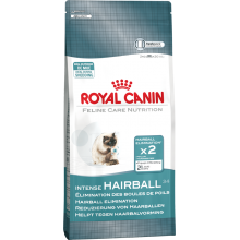 Royal Canin Cat Food: Hairball Care - For natural elimination of hairballs. Available online from Yes.Pet