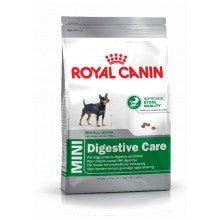 Royal Canin Dog Food: Mini Digestive Care (Sensitive Digestion). Available online from Yes.Pet