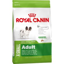 Royal Canin Dog Food: X-Small Adult (From 10 months). Available online from Yes.Pet