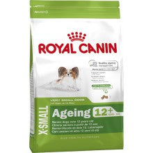 Royal Canin Dog Food: X-Small Adult 12+ (Over 12 years). Available online from Yes.Pet