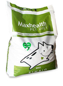 Maxhealth Dog Food: Maxhealth Simbio - Free-Range Beef. Available online from Yes.Pet