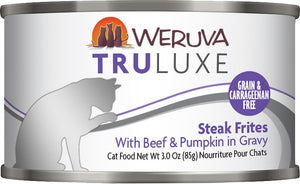 Weruva Cat Food: Truluxe Streak Frites. Available online from Yes.Pet