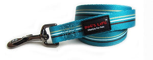 Dog's Life Dog Leash: Designer Pooch Leash - Stripes. Available online from Yes.Pet