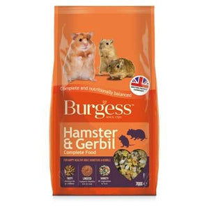 Burgess Hamster, Gerbil & Mouse Nuggets
