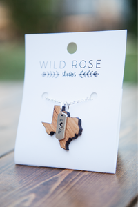 Texas State Necklaces