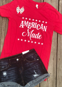 """American Made"" Graphic Tee"