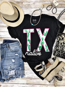 """TX Native"" Graphic Tee"