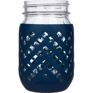 Manga para Mason Jar 470 ml - Boca Regular Azul