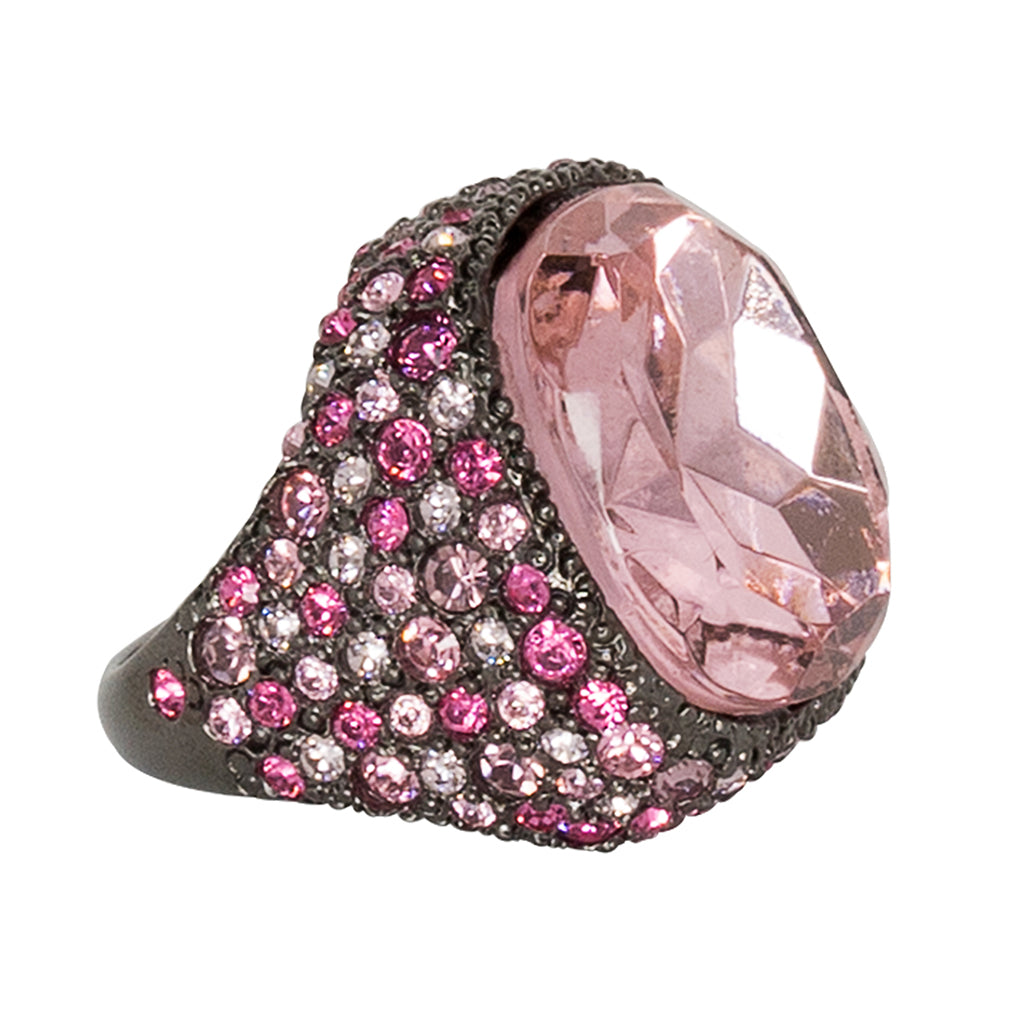 Multi Pink Gem Ring