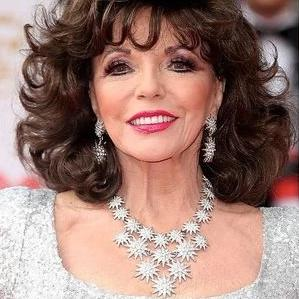 Joan Collins in Starburst Bib Necklace