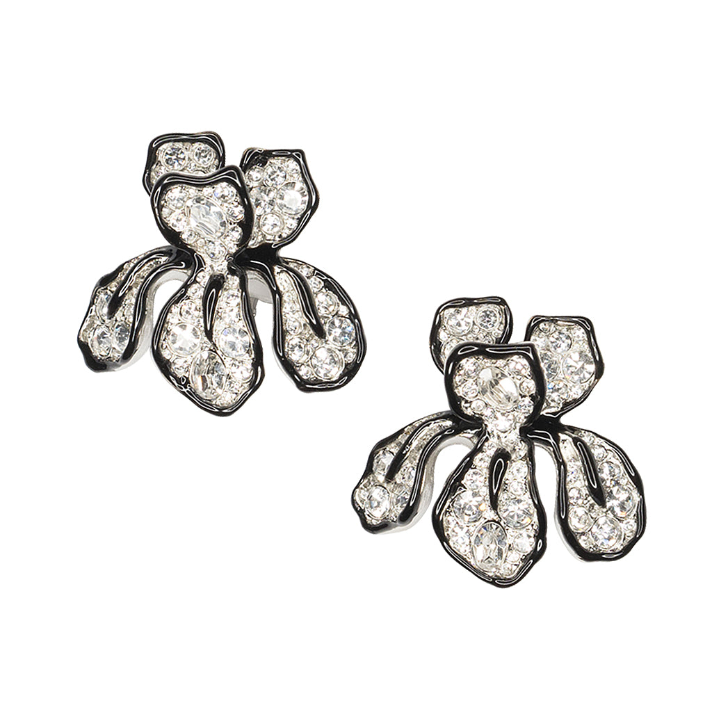 The Knot/ Summer 2018 - Crystal Flower Clip Earring