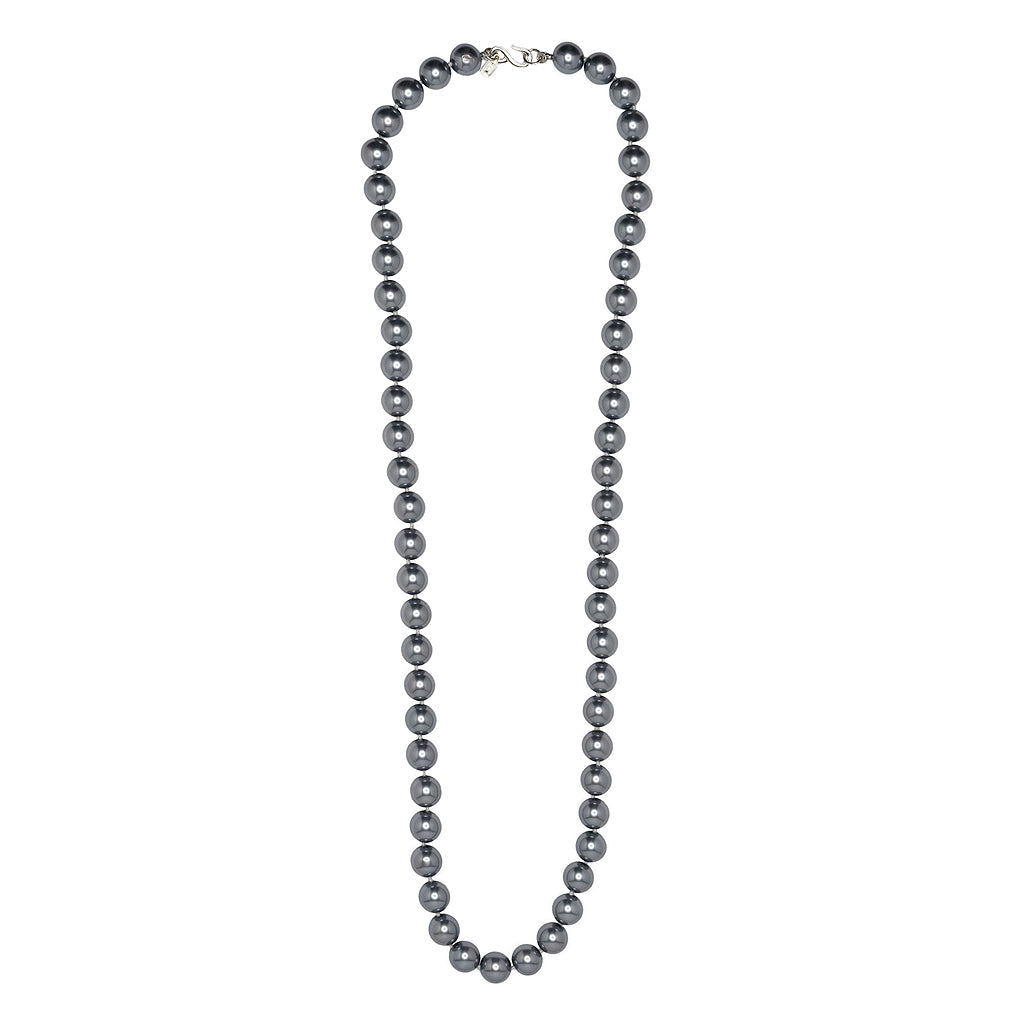 "36"" Grey Pearl Necklace"