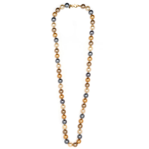 "36"" Multi Color Pearl Necklace"