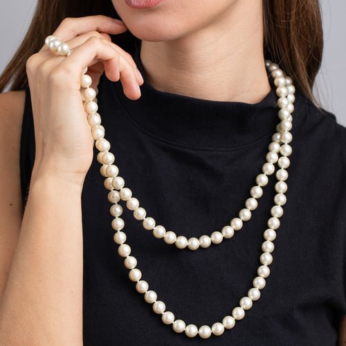 Cultura Pearl Rope Necklace