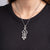 Crystal Art Deco Drop Pendant Necklace